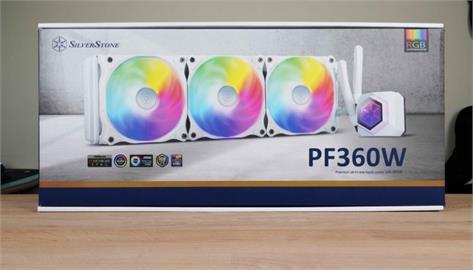 特色外觀,涼意來襲!SilverStone PF360W-ARGB 桌機水冷