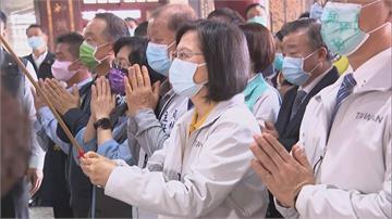 逆勢中經濟成長 總統:世界看到台灣重要性