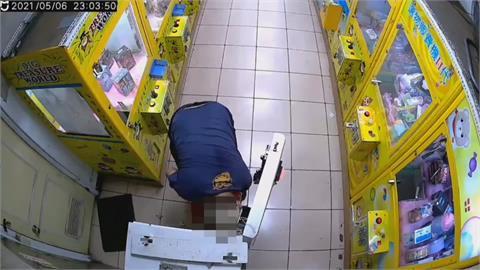 娃娃機大盜偷遍新北、桃園 得手贓款超過36萬元