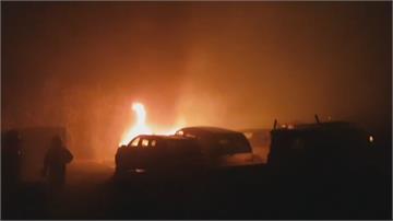 狂燒2公頃 苗栗白沙屯「一整排山頭」全陷火海