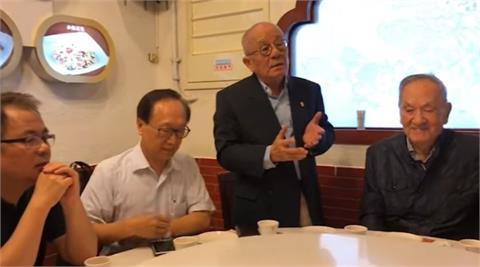 快新聞/前國策顧問邱垂亮今晨辭世 蔡英文不捨:感念畢生為台灣民主運動奉獻