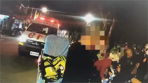 小黃司機欠錢 不滿被追討叫人助陣當街上演全武行 警全依法偵辦