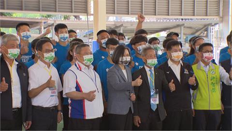 東奧倒數百日 總統訪視國訓中心喊話當「神隊友」