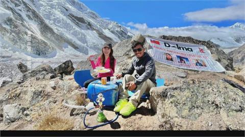 她才28歲! 曾格爾登世界第三高峰創紀錄