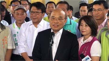 蘇貞昌周六屏東衝衝衝!視察漁港、醫院工程進度