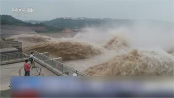 24年最大洪水!長江第五號洪峰來襲 洛陽水庫「開四門」至少連洩洪6天
