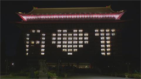 感謝美方贈疫苗!圓山飯店.台北101晚間點燈