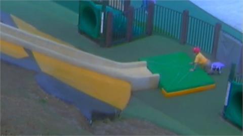 溜滑梯太快造成男童骨裂 家長控設施不安全