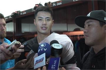 陳偉殷復出首場奪勝 總教練馬丁利讚好投