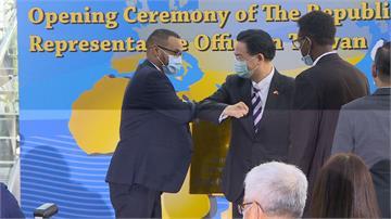 索馬利蘭駐台代表處揭牌「台灣是你第二個家」吳釗燮感性致詞