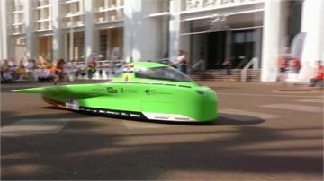 飆沙漠3000公里!第15屆「世界太陽能車賽」登場