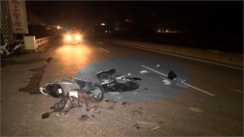 無照騎友人車 少年撞迴轉砂石車身亡