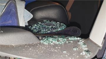 愛車被砸還被偷!藍芽喇叭、行車紀錄器消失 螺絲起子毀車偷財物 砸車竊賊自家落網