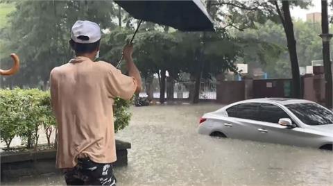 快新聞/363處淹水!大安信義文山3小時雨量破200毫米 降雨記錄排第5
