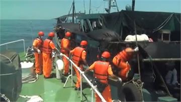 中籍海釣船越界闖澎湖 被海巡追到放棄逃逸