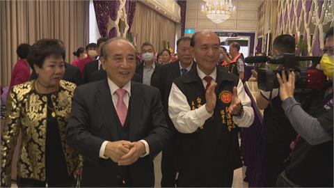 中華道教關聖帝君總會長接任 王金平到場致意
