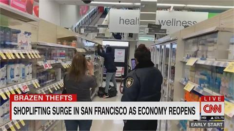 美國治安問題又加一 舊金山商店行竊案暴增