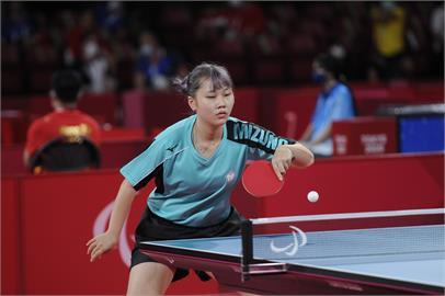 東京帕運賽程首日 我國桌球女將奮力一戰