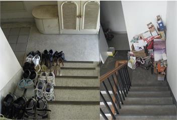 愛在樓梯堆鞋?鄰居檢舉4萬飛了