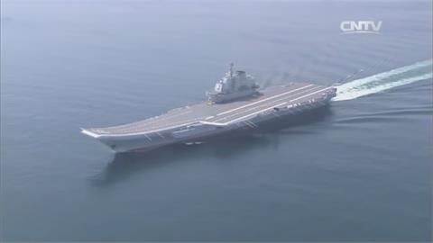 中國遼寧號穿宮古海峽 日擬部署F-35B反制