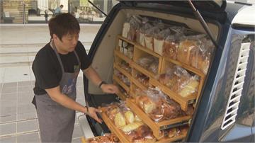 職人開車前進社區  麵包車15分鐘內一掃而空