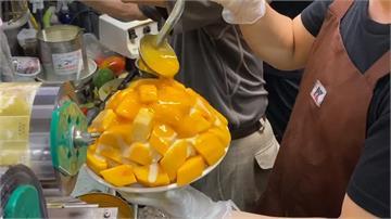 大塊芒果堆成山!超夯芒果冰「未開店就完售」
