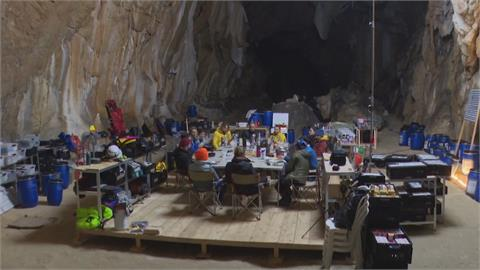 與世隔絕40天 深入歐洲最大洞穴隔離生活