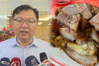 快新聞/李德維質疑萬巒豬腳非台灣豬 藍營議員看不下去轟「豬隊友」