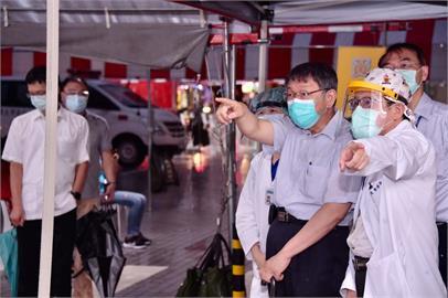 快新聞/台灣軟性封城、疫苗尚未開打 柯文哲:要有「長期抗戰」的心理準備