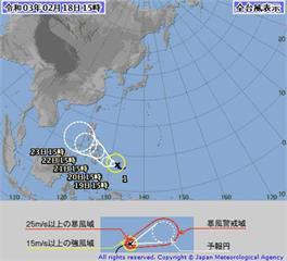 快新聞/今年第一颱「杜鵑」生成! 下週將為台灣帶來水氣