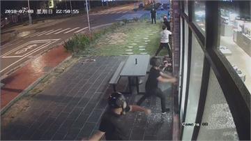 火鍋店被砸店 4惡煞持棍棒狂K後騎車逃逸