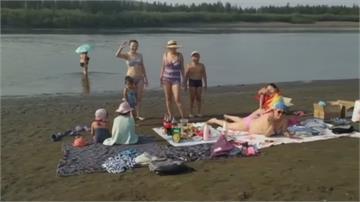 西伯利亞熱浪來襲 北極圈小鎮飆38度高溫