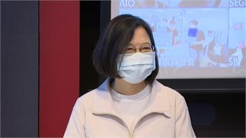 黃健庭監院提名爭議 蔡英文微笑不回應