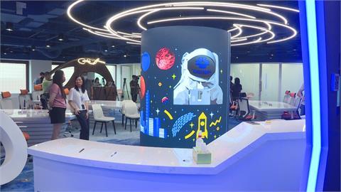 助攻創新產業!貿協數位轉型出招 展示科技感「創新業務中心」