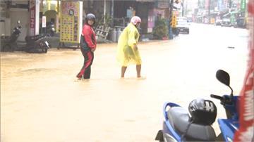 87水災再現?雲林以南發布「超大豪雨特報」
