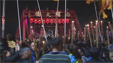 藝陣文化祭登場 360秒焰火秀照亮雲林夜空