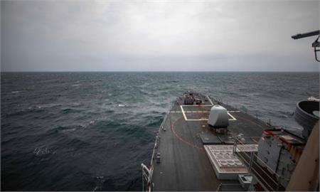 快新聞/驅逐艦馬侃號通過台海 美國防部:執行航行自由