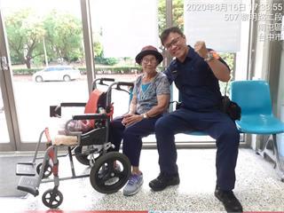 最美人瑞在這裡!「光緒31年生」116歲阿嬤走失暖警助返家 看起來像80歲