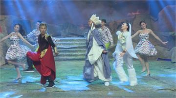 民視除夕節目爆笑《嬉遊記》  郭婷筠、蔡佳麟和張文綺又演又唱