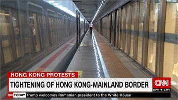 反送中/中國嚴查香港邊境 外媒記者通關遭公安搜身
