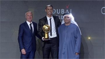 C羅獲環球最佳足球員 IG擁1.5億追隨創紀錄