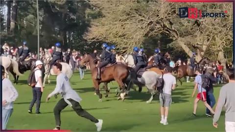 邀愚人節公園開趴 2千人聚集 警強制驅離