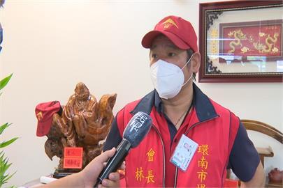 環南市場傳火警 噴灑泡沫約20攤商受影響