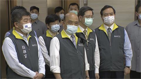 快新聞/「清零計畫2.0」衝擊華航運能 蘇貞昌呼籲:多支持及體諒