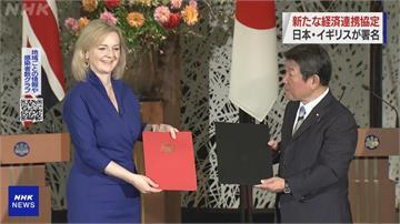 日英簽署經濟夥伴關係協定 2021元旦起生效