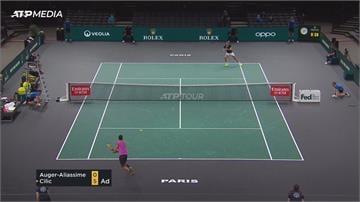 巴黎網球賽首輪 西班牙小將爆冷淘汰種子球員