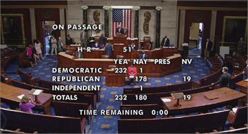 美國史上第一次 眾院通過華府升格第51州