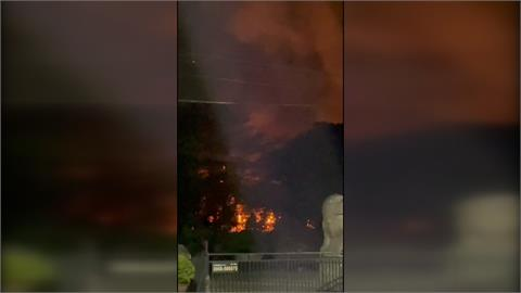 嘉義渡假村深夜火警 民眾:聽到好幾聲爆炸