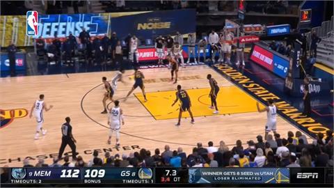 NBA/氣走勇士柯瑞飆39分仍敗北 莫蘭特搶35分晉級