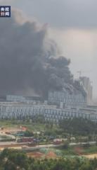 東莞松山湖高新區施工建築失火3死 疑是華為實驗基地